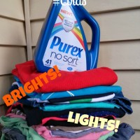Live life #LaundrySimplified with New Purex® No Sort™