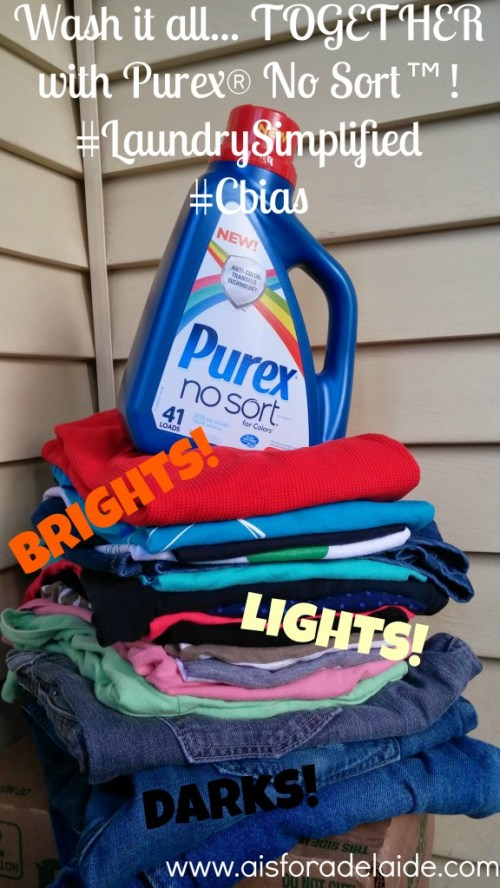 #LaundrySimplified #cbias #shop #aisforadelaide Purex no sort Available at Walmart