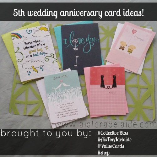 My Hallmark Card Choices to Celebrate 5 Years of Marriage! #aisforadelaide #shop #collectivebias #cbias #valuecards