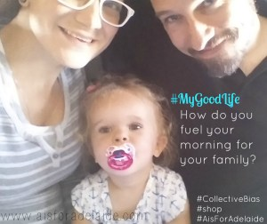 #aisforadelaide #MyGoodLife #CollectiveBias #shop Fueling my Family's Morning