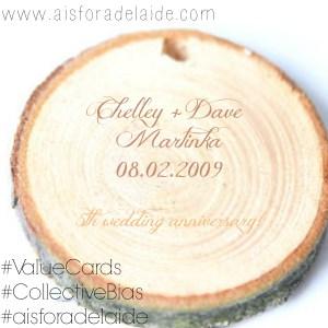 #aisforadelaide #valuecards #shop #martinkadelux #woodanniversary