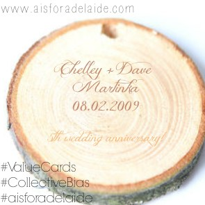#aisforadelaide #valuecards #shop #martinkadelux #woodanniversary
