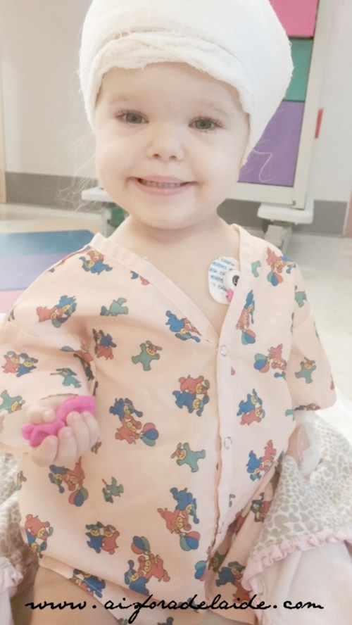 #aisforadelaide #firstsmile #recovery #surgery #postop #incision