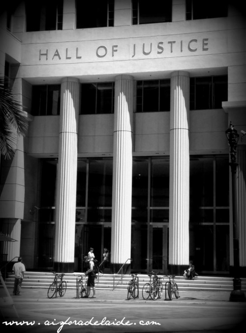 #aisforadelaide #travel Hall of Justice San Diego