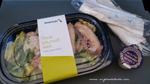 #aisforadelaide #flying #salad #americanairlines #travel