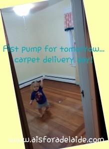 #aisforadelaide #camillethea #carpet #flooring Baby Girl Nursery
