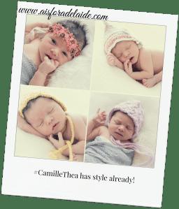 #CamilleThea #microfashion #aisforadelaide #newborn The first days #newbornphotpgraphy