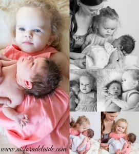 the first few days sisters #aisforadelaide #camillethea