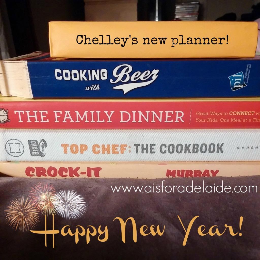 happy new year cookbooks mealplanning aisforadelaide thefamilydinner topchhef marvelous monday