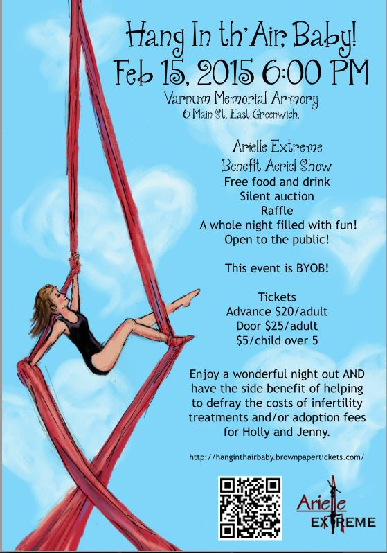 Hang In th' Air, Baby! #RIBirth #aisforadelaide