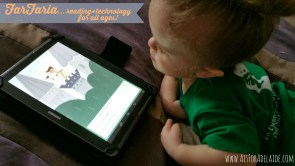 We love #FarFaria reading app for learning, quiet time and fun! #aisforadelaide