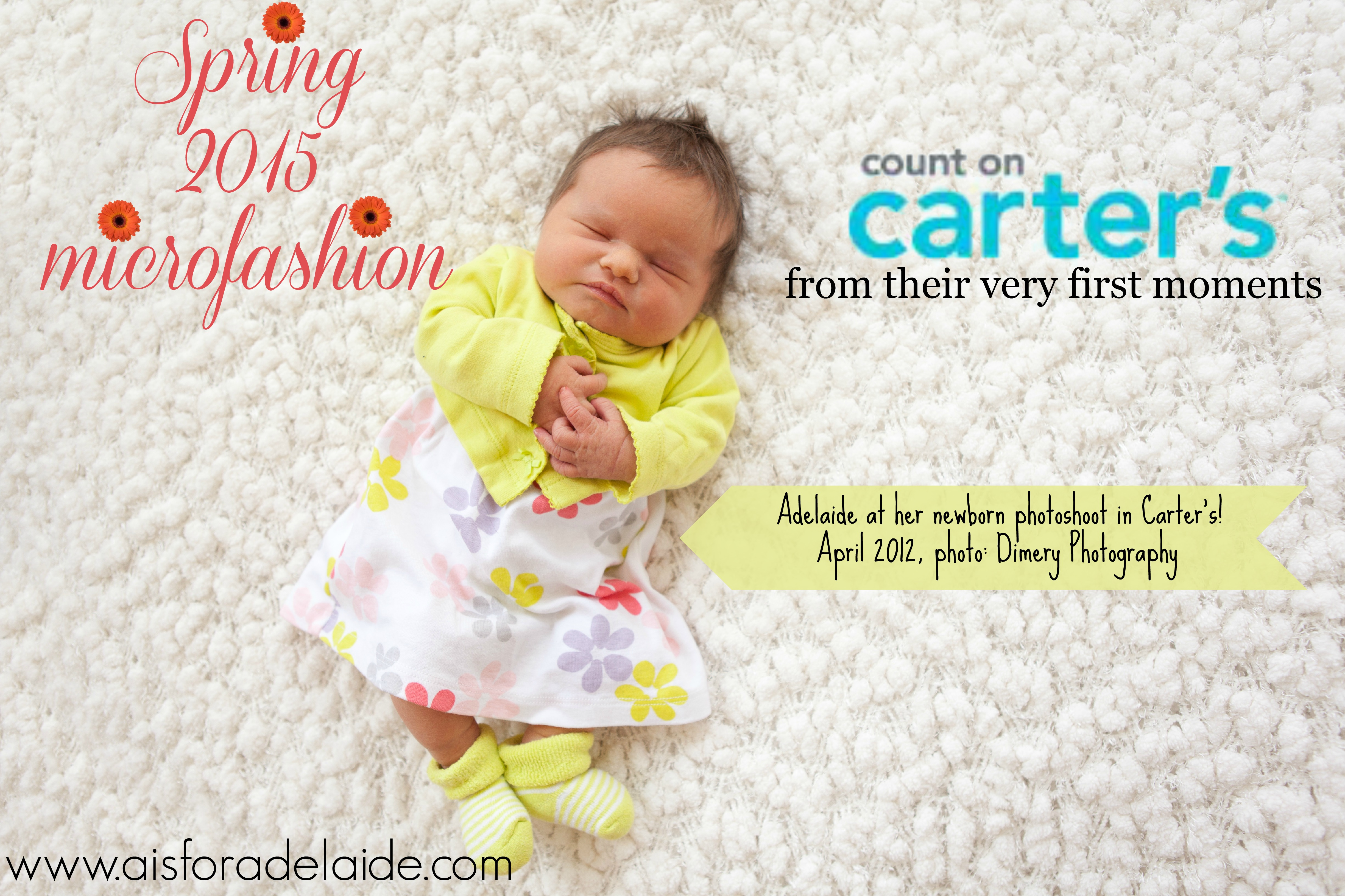 #SpringIntoCarters for the season's best #microfashion! #IC #ad #aisforadelaide