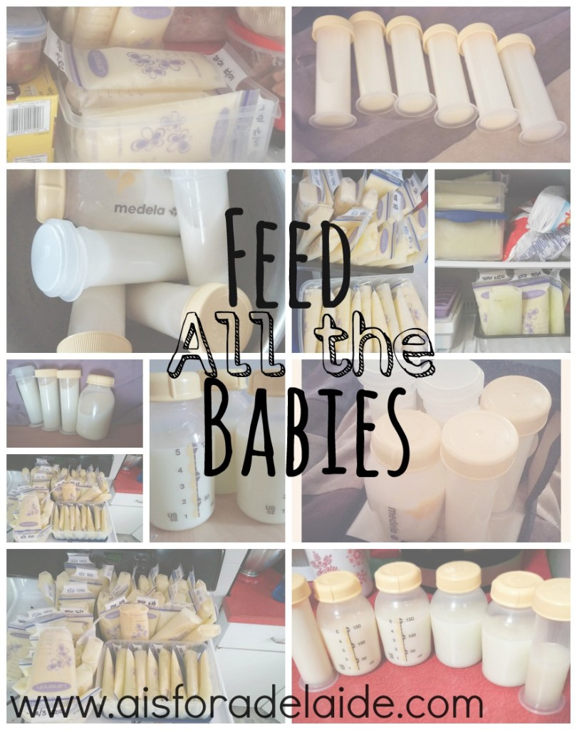 Feed All the Babies #motherhood is a war. #aisforadelaide