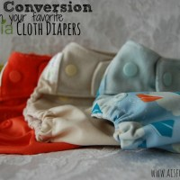 Grovia Cloth Diaper Snap Conversion in 3 steps!