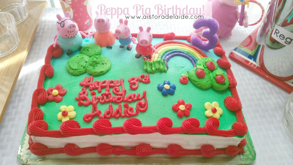 Peppa Pig 3rd Birthday!