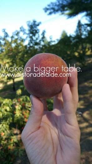 Make a bigger table. #52weeksa4a #quote