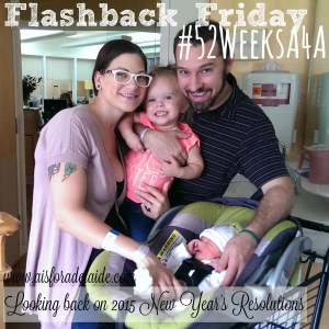 #52WeeksA4A Blog Challenge: looking back on 2015 New Year's Resolutions