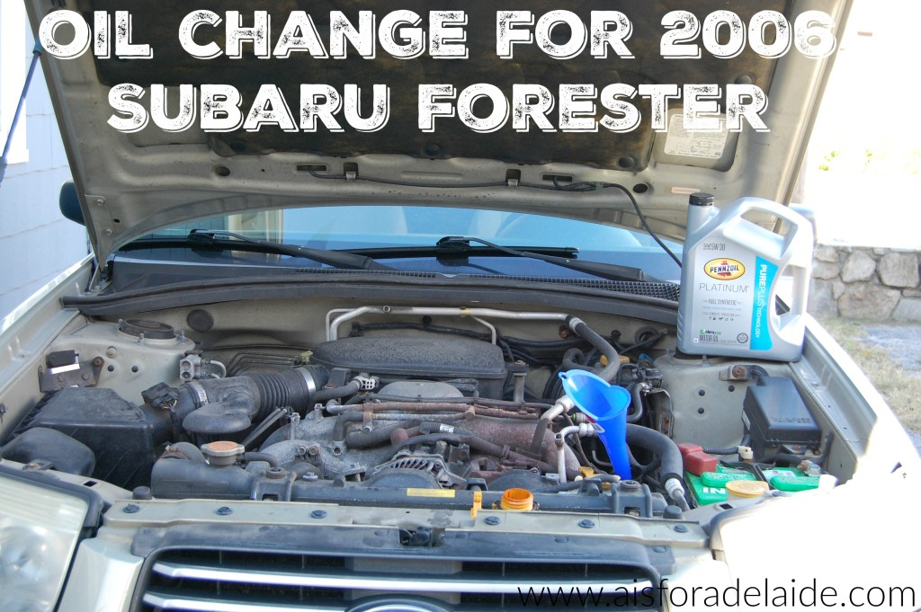 Subaru Forester Oil Change - The Best Forest Of 2018