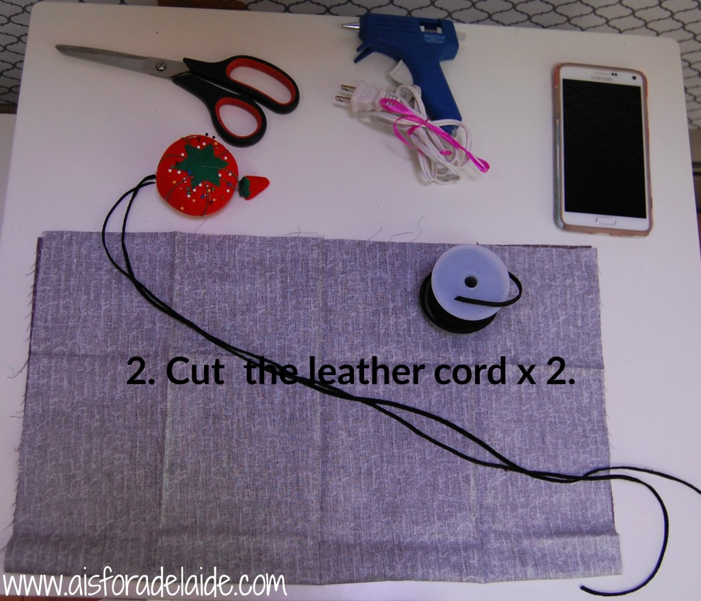 No-Sew Pouch Tutorial #BeHealthyForEveryPartofLife #ad
