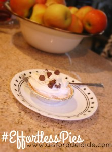 #EffortlessPies for your #holiday celebrations! [ad]