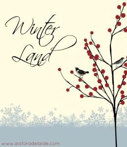 A poem to describe Winter. #52WeeksA4A blog challenge