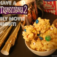 Popcorn (eye) Balls to #MakeItAMovieNight with Hotel Transylvania 2!