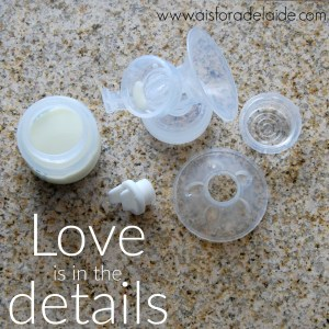 #LoveIsInTheDetails with the Philips Avent Double Electric Breast Pump + #giveaway [ad]