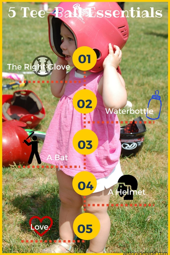 5 essentials for tee-ball season!