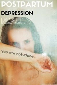 Postpartum Depression: You can make it through.