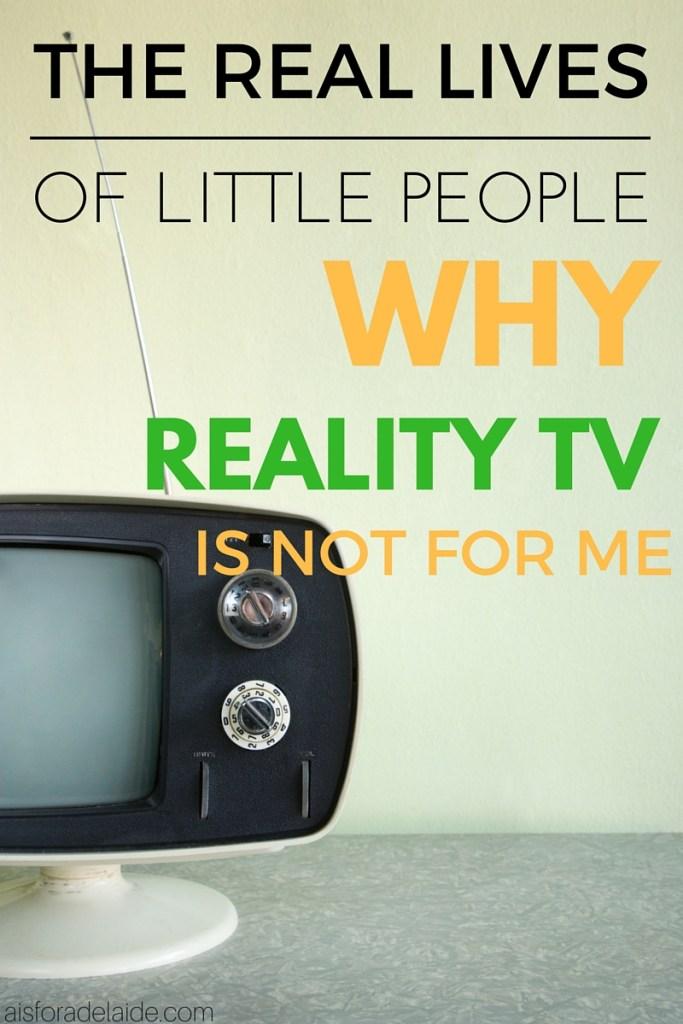 Reality TV + Dwarfism
