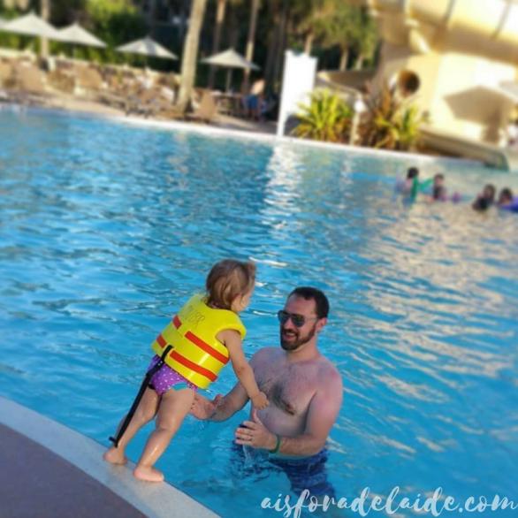 Vero Beach, FL- Swimming toddler!
