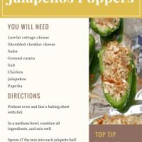 Healthier Jalapeños Poppers