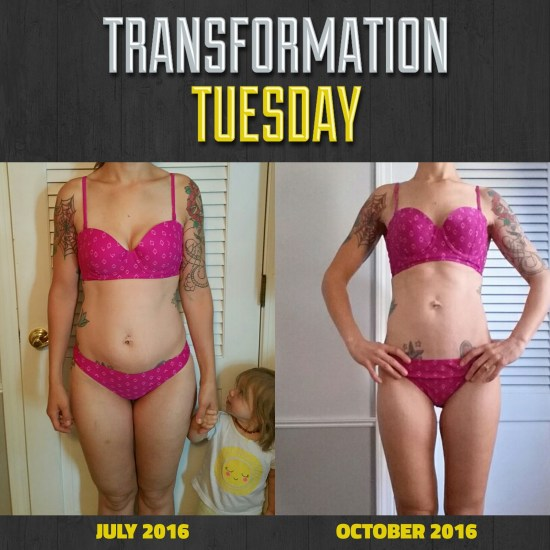 My 4 month Beachbody transformation!