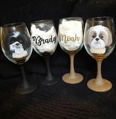 Glitter Brat Custom Glassware