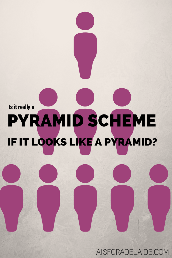 Is it a pyramid scheme?