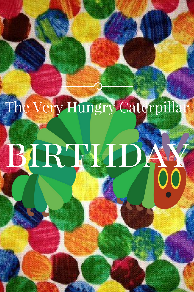 The Very Hungry Caterpillar 2nd Birthday Party
