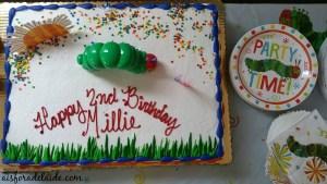 The Very Hungry Caterpillar 2nd Birthday