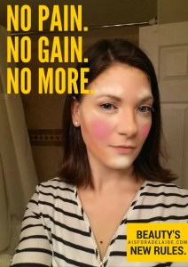 No pain, no gain. No more. Beauty's New Rules. #IC #ad #SensodyneTrueWhite