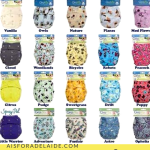 The 5 Types of Cloth Diapers