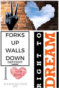 Forks Up Walls Down: DC Activist Event