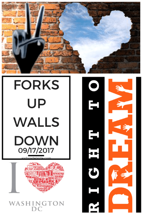 Forks Up Walls Down: DC Activist Event