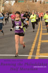 Before and After: Running the Philadelphia Half Marathon