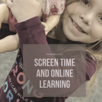 Finding Balance: Screen Time and Online Learning