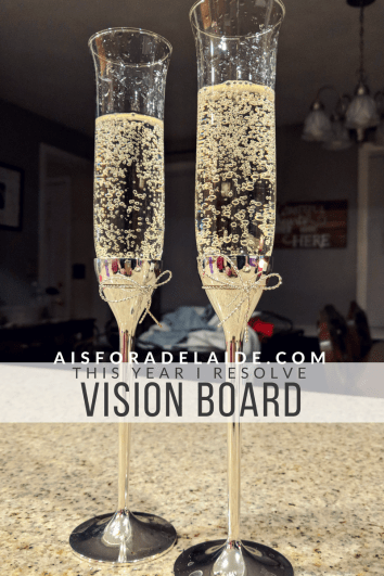 Creating your vision board for the new year!