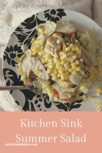kitchen sink summer salad