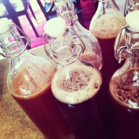 Kombucha is now a daily part of our world! Our friend brought us a Scoby and we have begun batch brewing.