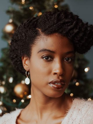 natural hairstyles for the holidays
