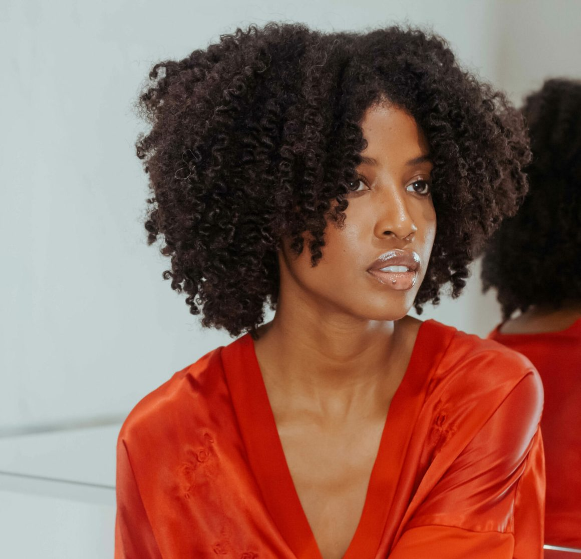 trim natural hair, aisha beau