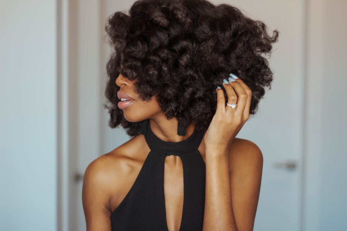 Valentine's Day Natural Hairstyle, Aisha Beau