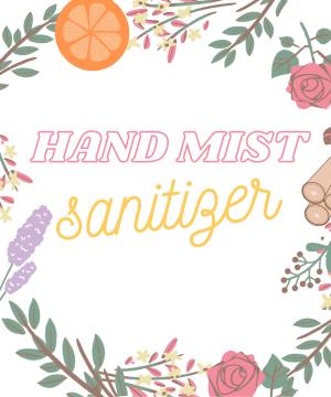 Hand Mist Sanitizer